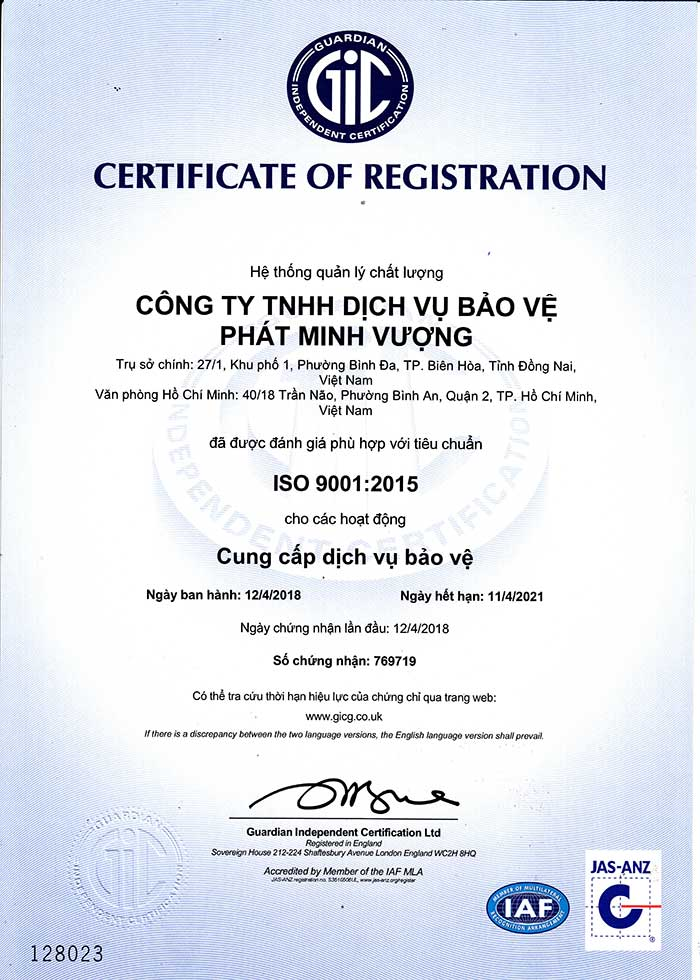 ve-si-pmv-nhan-duoc-chung-chi-chat-luong-iso